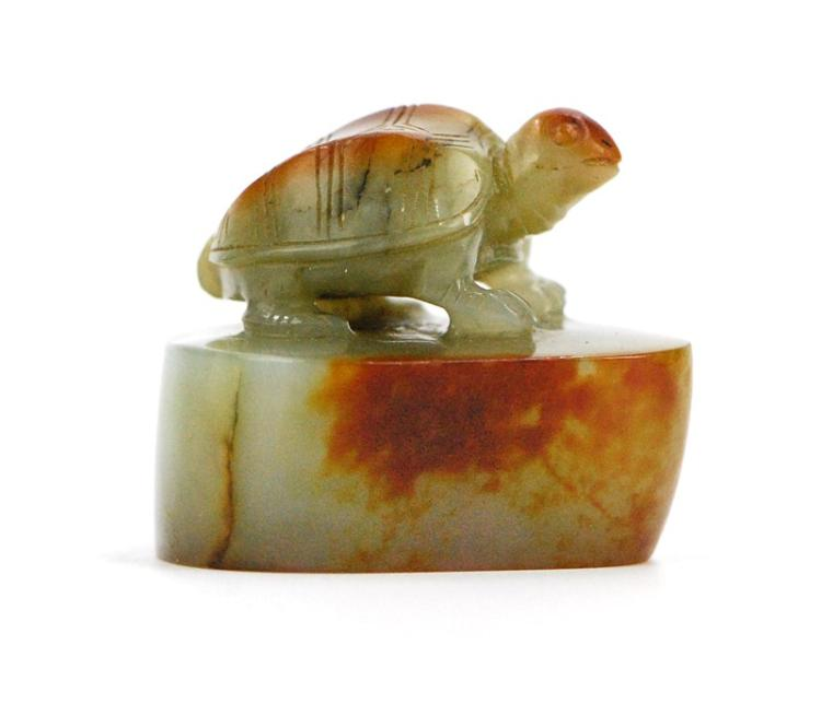 JADE TURTLE STAMP