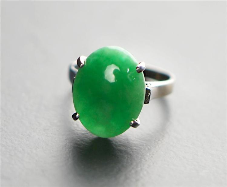 JADE 18K GOLD RING