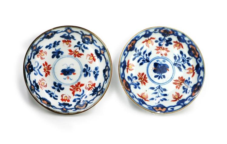 BUTTERFLY PORCELAIN PLATE PAIR