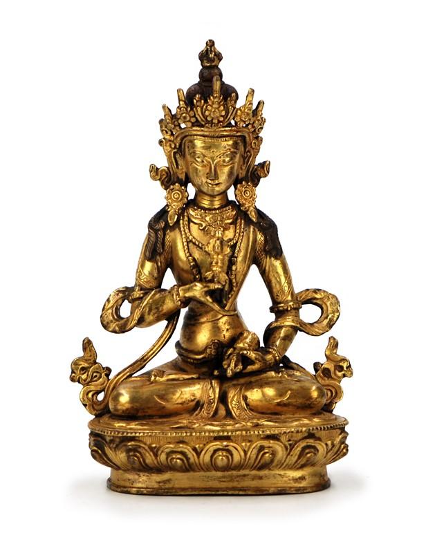 GILT BUDDHA STATUE