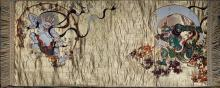 GOLD TAPESTRY OF THE GOD OF LIGHTNING AND THUNDER