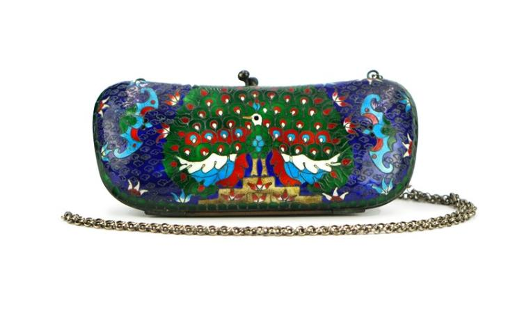 CLOISONNE GLASSES CASE