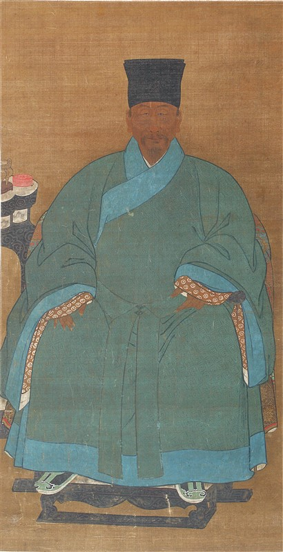 QING DYNASTY PORTRAIT