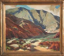 WILLIAM DAMPIER (1910-1985, LOS ANGELES, CA)