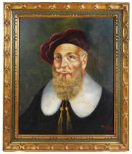 FRAMED PORTRAIT OF A MAN