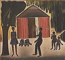 Alfred Thoba - Punishing a Woman
