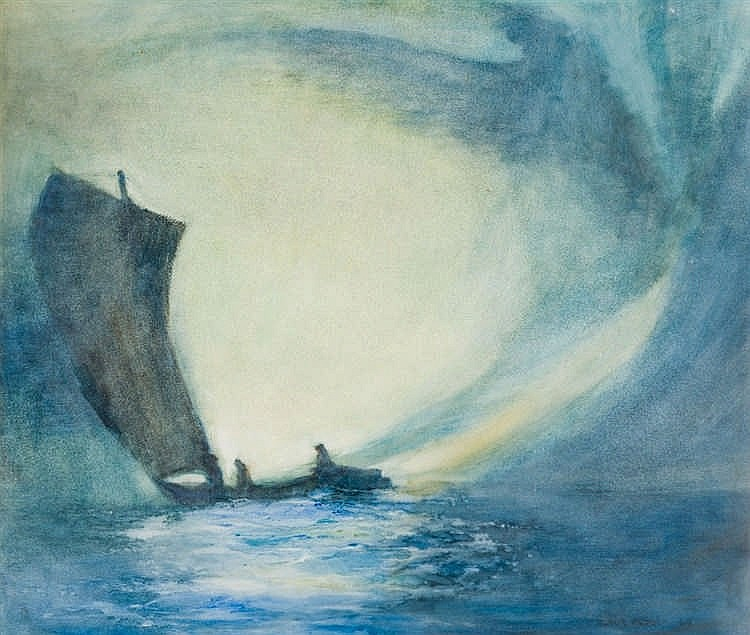Fleur Ferri - Sailing