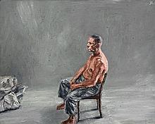 Johann Louw - Untitled - Seated Figure