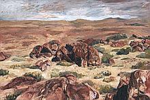 Johann Louw, Karoo Landscape