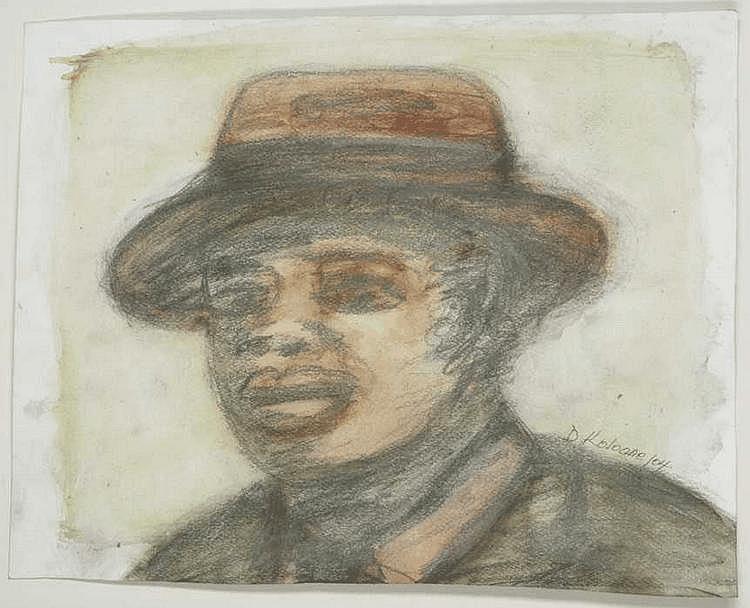 David Nthubu KOLOANE South African 1938- Ten