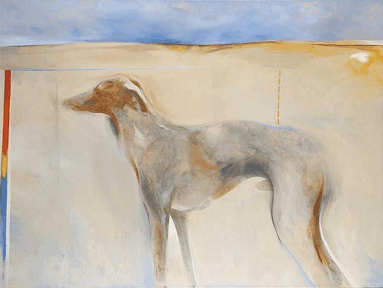Andrew Clement VERSTER South African 1937- Dog,