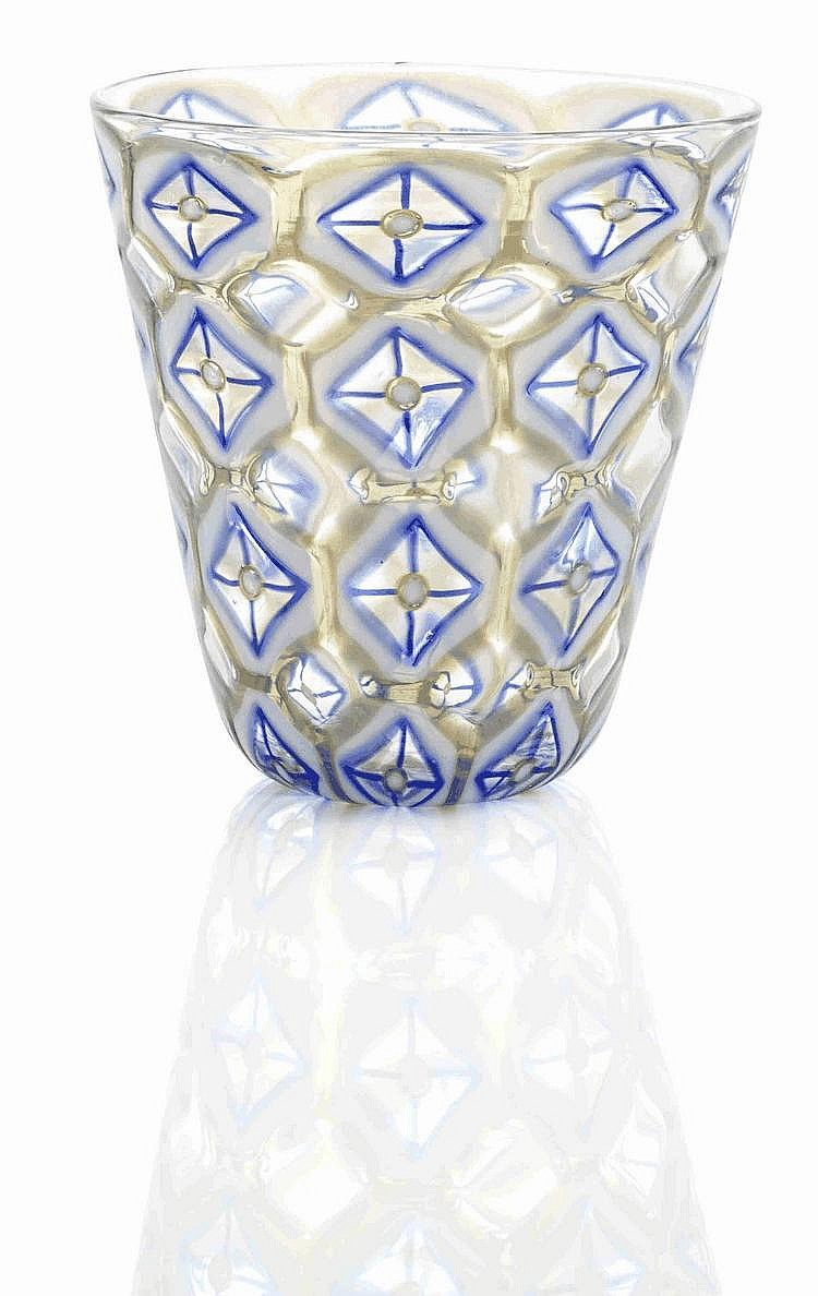 A Barovier & Toso 'Athena Cattedrale' glass vase,