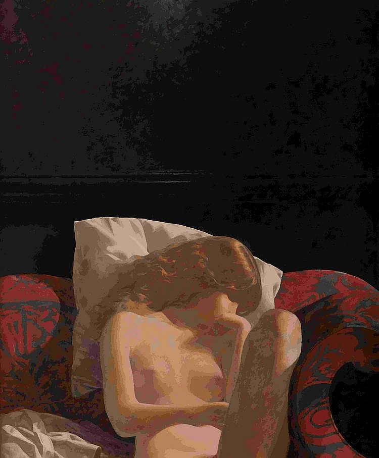 John Neil Rodger Young Girl Asleep