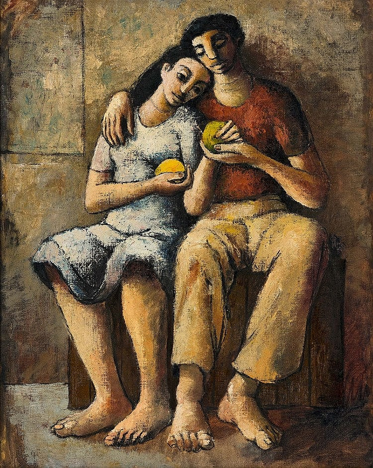 Douglas Owen Portway - The Lovers