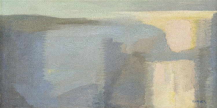 Maud Frances Eyston Sumner - Abstract Landscape