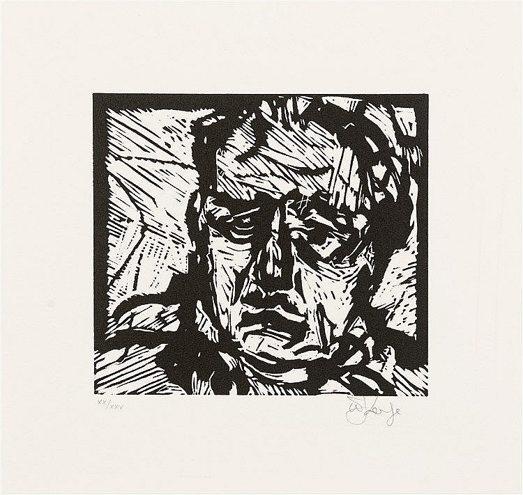 William Joseph Kentridge - Self Portrait