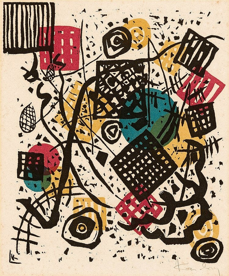Wassily Kandinsky - Small World