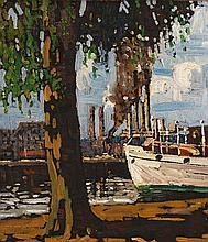 Joseph Charles Louis Clement Sénèque - Entering the Harbour