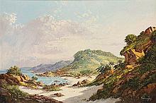 Gabriel Cornelis de Jongh - A Deserted Beach