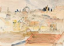 Maud Frances Eyston Sumner - Rooftops