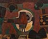 Lucky Madlo Sibiya - Abstract Figural Composition, Lucky Sibiya, R0