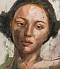 Lionel Smit - Portrait of a Girl, Lionel Smit, Click for value