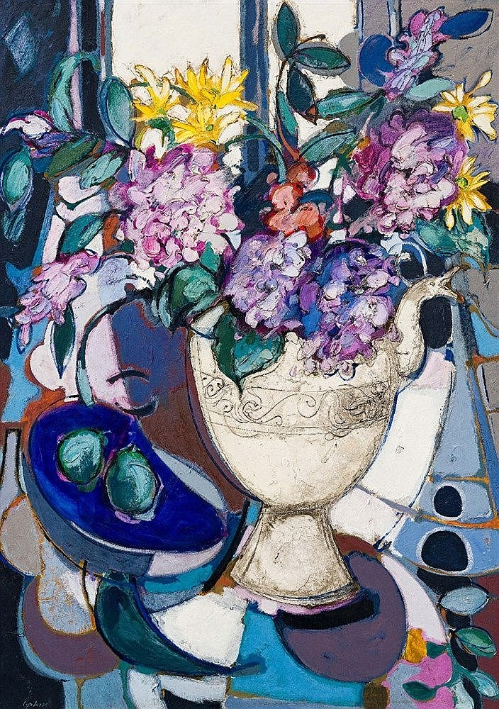 Aileen Lipkin - Still Life with Hydrangeas