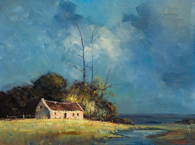 Christopher Tugwell - Cottage by the River
