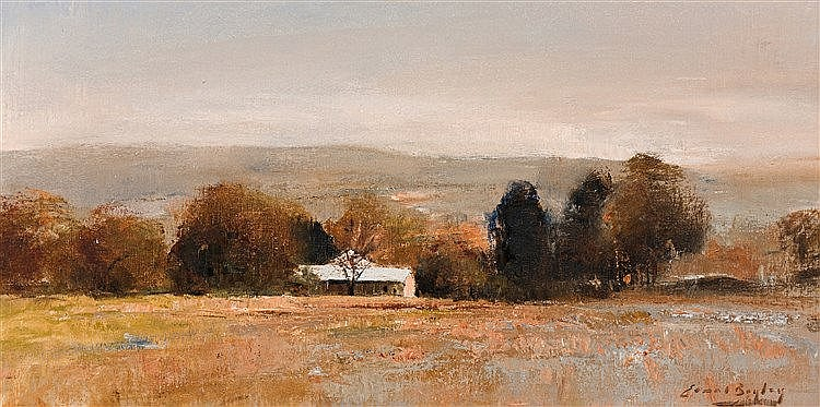 Errol Stephen Boyley - Landscape with Cottage