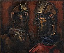 Josef Herman - Two Miners