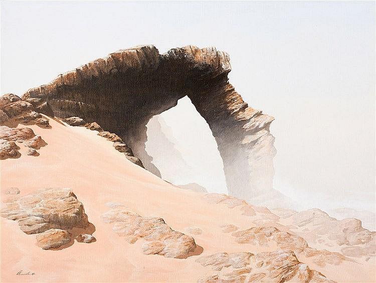 Keith Savel Alexander - Desert Rocks