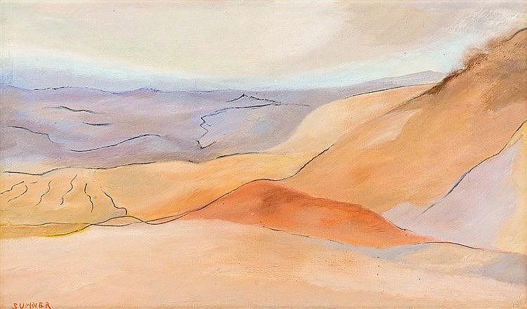 Maud Frances Eyston Sumner - Namib Landscape