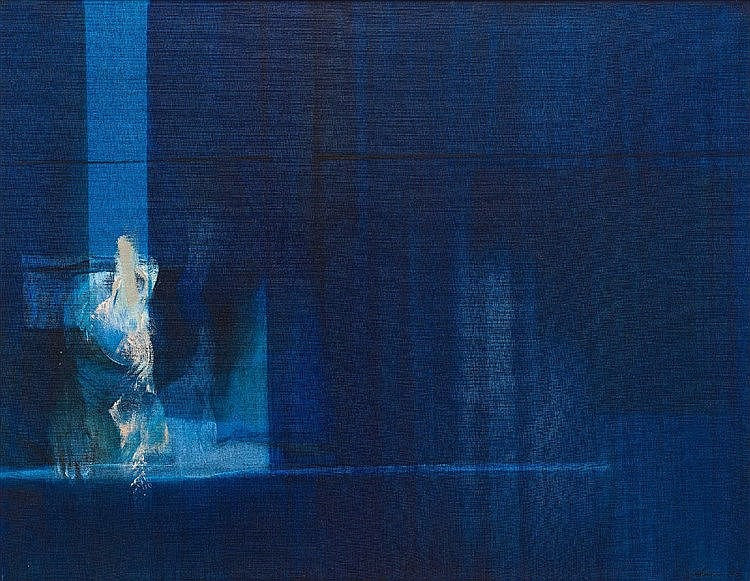 Lionel Abrams - Blue Abstract