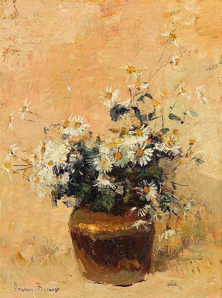 Adriaan Hendrik Boshoff - Still Life with Daisies