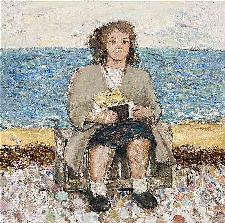 John Garden Boyd - Girl with a Boat House