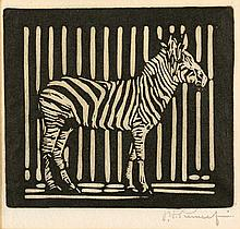 Jacob Hendrik Pierneef - Zebra (Nilant 150)