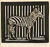 Jacob Hendrik Pierneef - Zebra (Nilant 150), J H Pierneef, R0