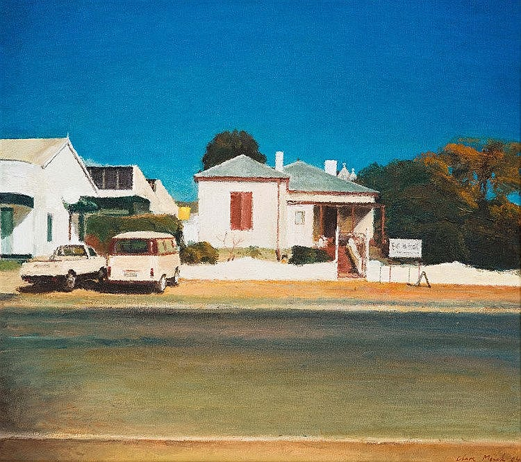 Clare Menck - Bakkie, Combi, House, Prince Albert