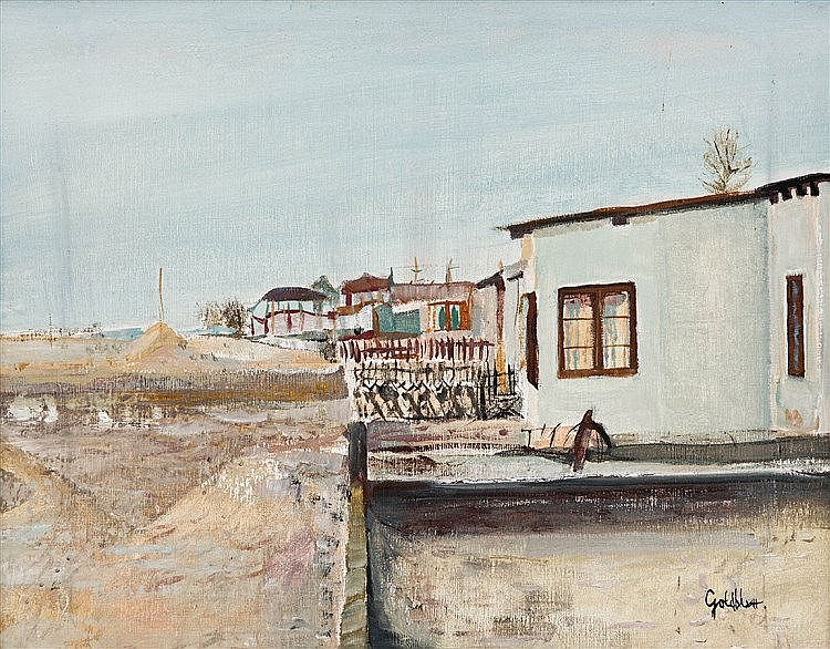 Sidney Goldblatt - Cottages and Sand Dunes