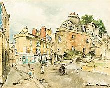 Terence John McCaw - Street Scene, City of Bath