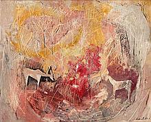 Gordon Frank Vorster - Antelopes in Long Grass