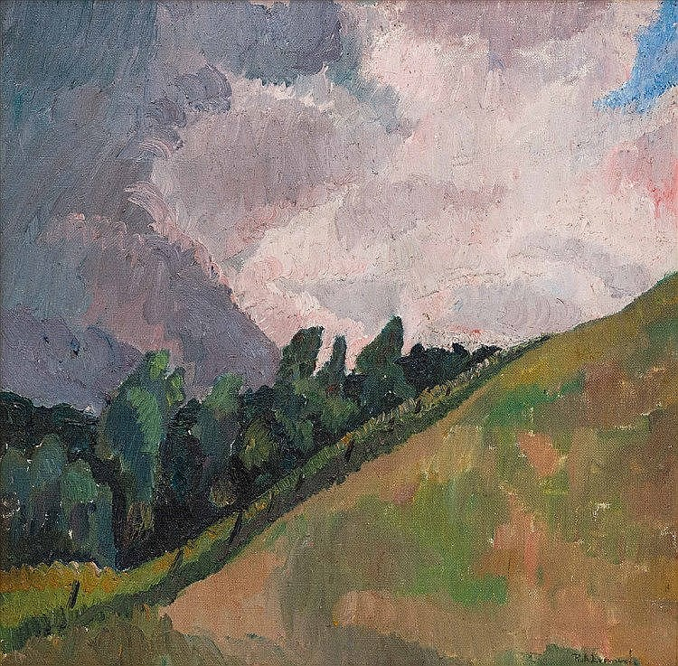 Ruth Everard-Haden - Hillslope and Sky