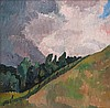 Ruth Everard-Haden - Hillslope and Sky, Ruth Everard, Click for value
