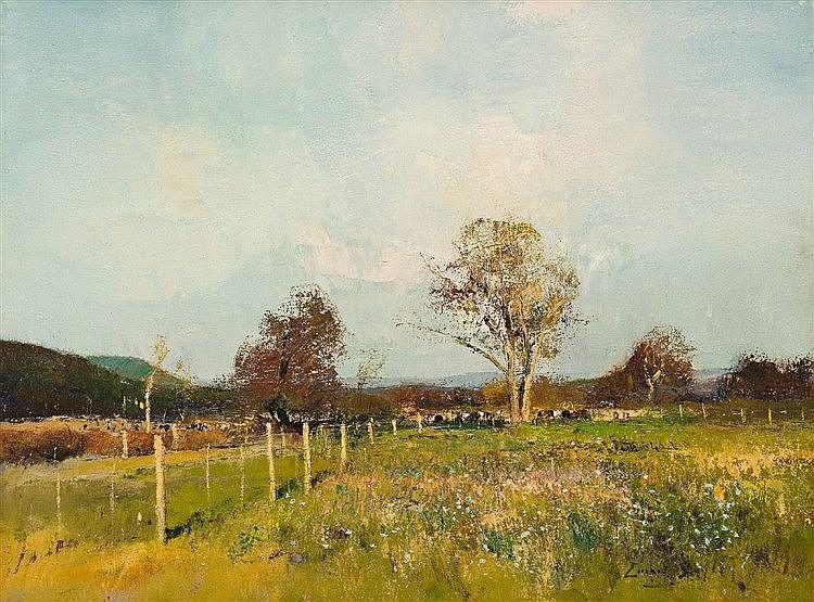 Errol Stephen Boyley - Farm Scene