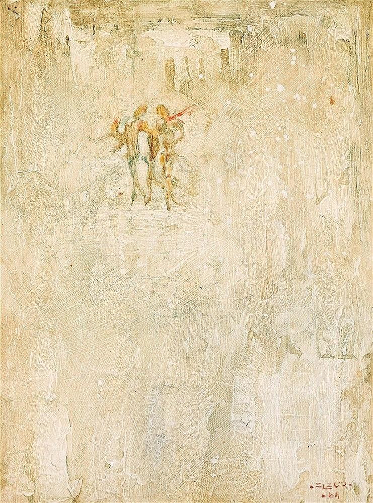 Fleur Ferri - Three Figures Dancing