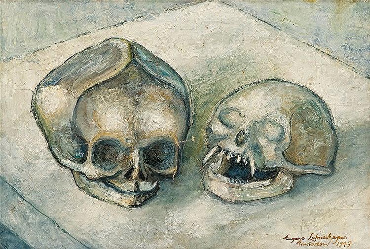 Eugene Labuschagne - Monkey Skulls (Amsterdam)