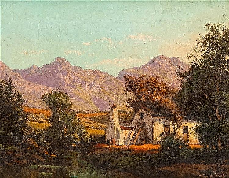 Tinus (Marthinus Johannes) de Jongh - Farmhouse