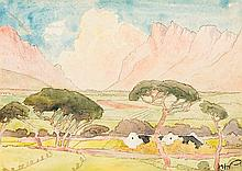 Jacob Hendrik Pierneef - The Farmstead