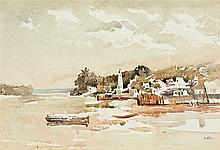 Walter Whall Battiss - Shela, Lamu Island, East Coast of Africa
