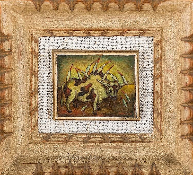 Alexis Preller - Ritual Bull